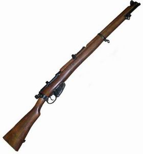 Rifle, Short, Magazine, Lee Enfield
