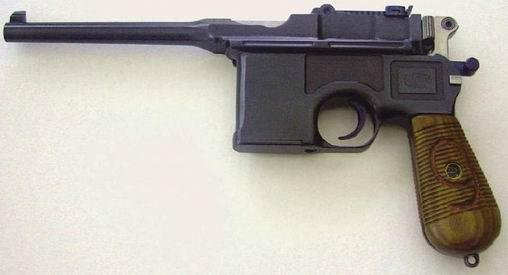"""Mauser C96 """"wielka czerwona dziewiątka"""""""