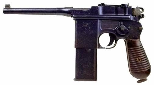 """Mauser C96 M712 """"Schnellfeuer"""""""