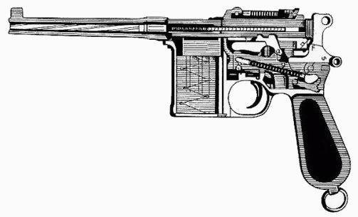 Pistolet samopowtarzalny Mauser C96