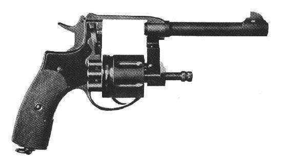 Nagant 1910 z wychylanym bębenkiem