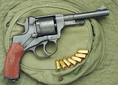 Nagant dostosowany do naboju 7,65x17SR mm