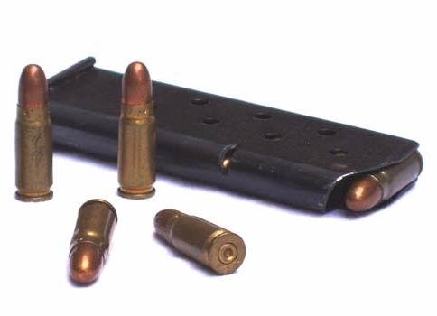 Magazynek do pistoletu TT oraz naboje 7,62x25mm